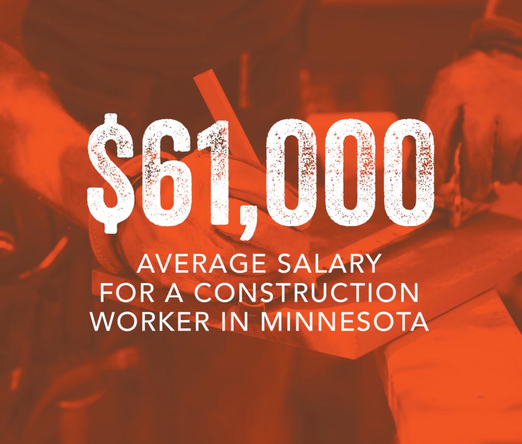 Average salary construction stat