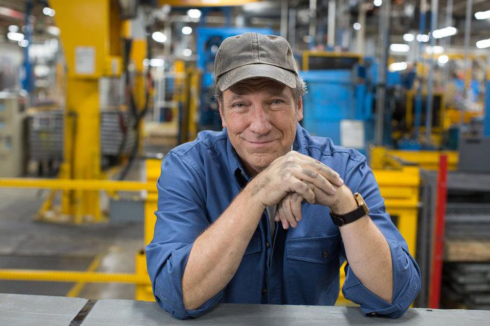 Mike Rowe picture - Project Build
