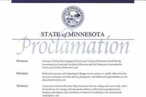 State of MN Proclamation